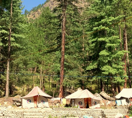 Camping in Kasol with Trekking to Malana Magic Valley