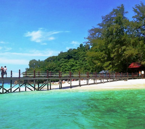 Swimming/Snorkeling Activity at Manukan and Sapi Island in Malaysia