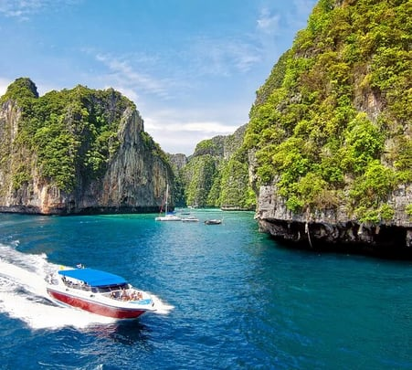 Krabi 4 Islands Tour from Phuket Flat 20% off