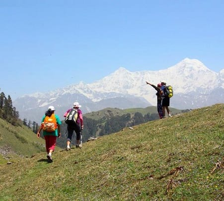 Dayara Bugyal Trek For 8 Days/ 7 Nights ,uttarakhand 2018