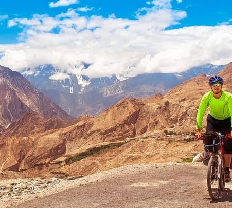 Mountain Biking in Pokhara Flat 20% off