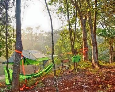 Camping near Coffee Plantation in Sakleshpur