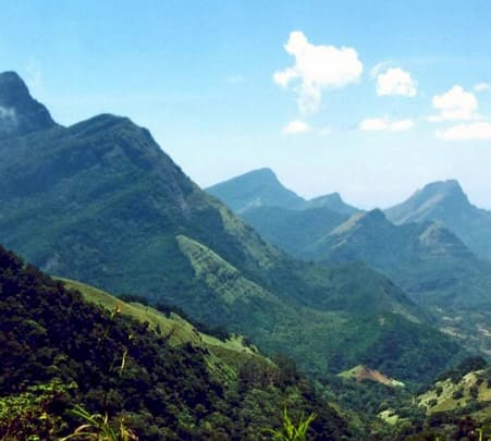 Trekking to Knuckles Mountain Range in Sri Lanka