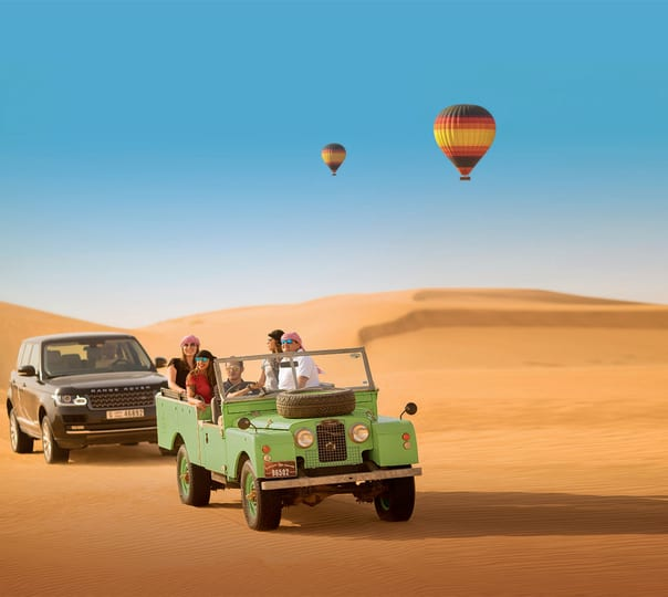 Desert Safari with Dhow Cruise and Dubai City Tour