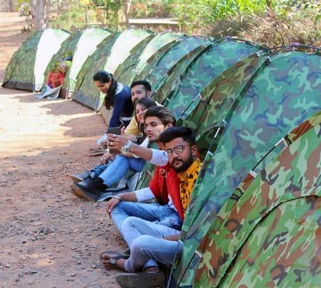 Camping at Omkareshwar, Indore Flat 25% off
