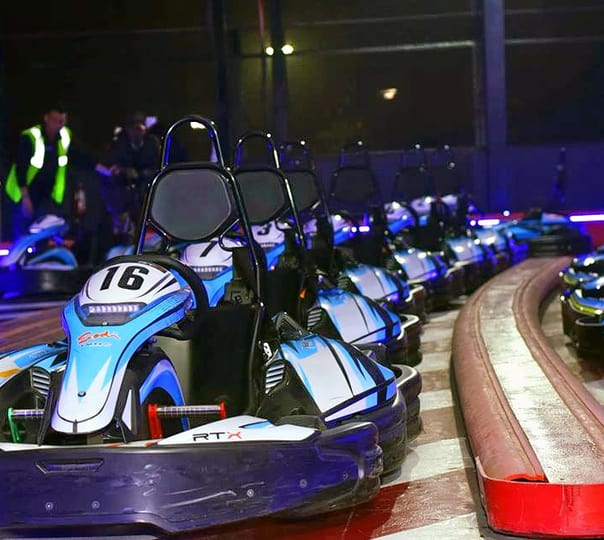 Go Sky Karting at Smaaash in Gurgaon
