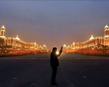 best happening places in delhi