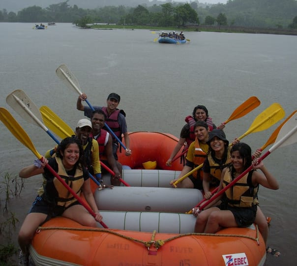 Monsoon River Rafting in Kolad