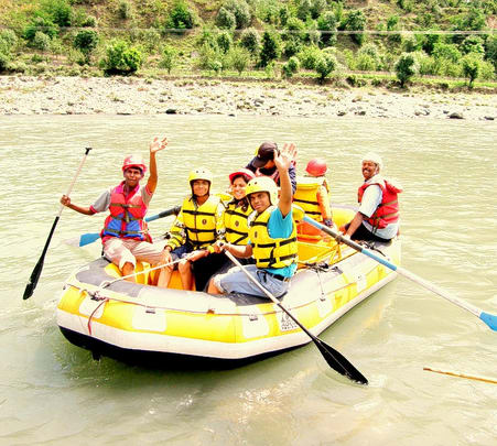 White Water River Rafting in Kullu Manali