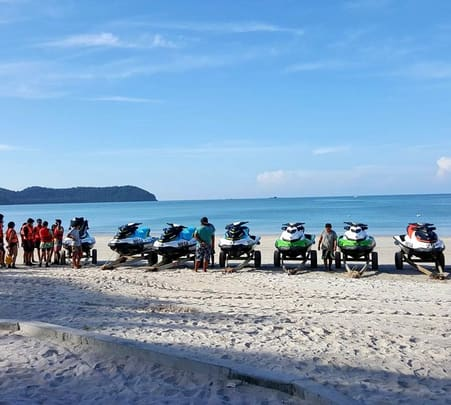 Three Island Tour on Jet Skis in Langkawi