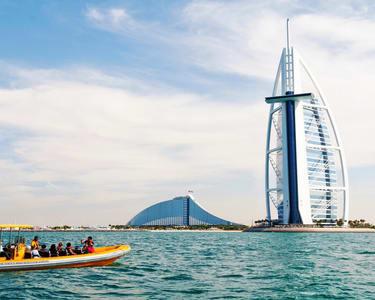 Boat Ride to Atlantis, Palm Jumeirah, Burj Al Arab & Marina - Flat 11% off