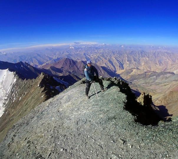 Stok Kangri Trek in Leh