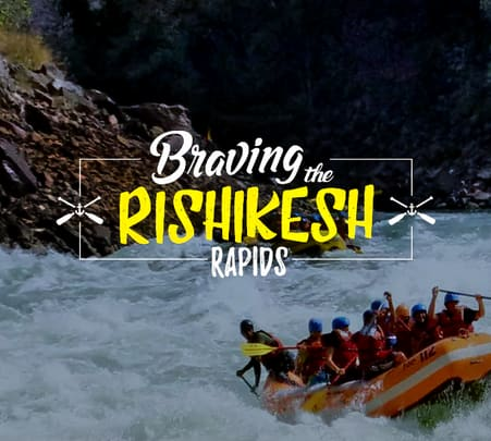 Camping in Rishikesh with River Rafting - Flat 30% off