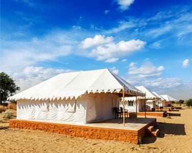 Stay in Desert Camp with Activities in Jaisalmer