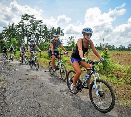 Mountain Cycling in Abun Village and Kintamani in Bali