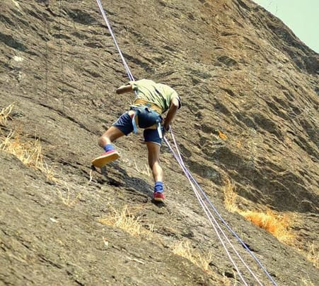 Rappelling and Rock Climbing at Netravali Wildlife Sanctuary