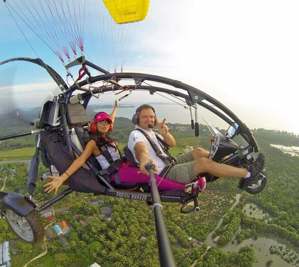 Paramotor Flying Trip in Phuket