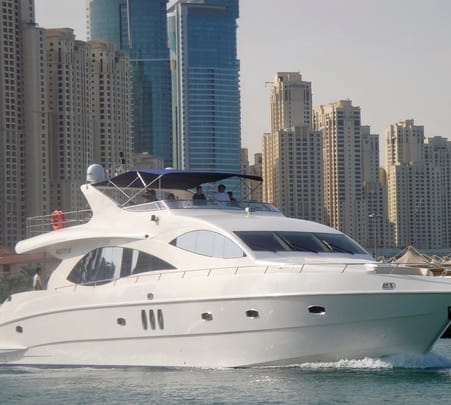 Cruise through Dubai Marina and Jumeirah Beach