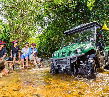 Ride in the Yamaha Rhino 4X4 at Tanjung Rhu Beach