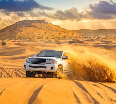 Combo: Dubai City Tour with Evening Desert Safari Flat 15% off