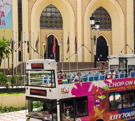 Kuala Lumpur Hop on Hop off Bus Tour, Flat 25% off