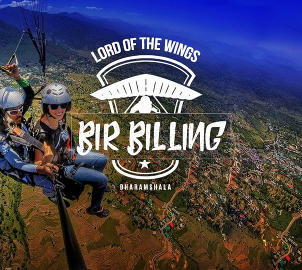 Paragliding in Bir Billing with and Trekking