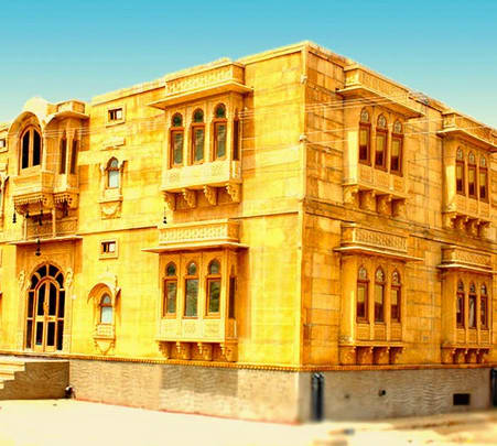 Stay at Hotel Marina Mahal in Jaisalmer