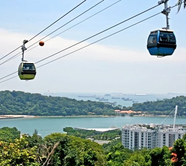 Sentosa Island Morning Tour in Singapore