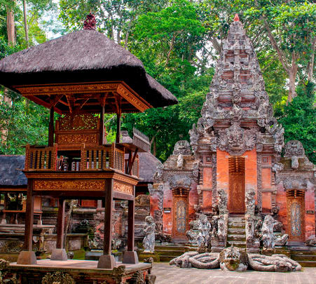 Day Tour to Ubud and Uluwatu in Bali