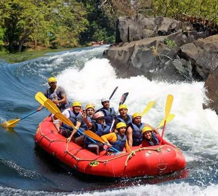 White Water Rafting on Mutha River in Pune