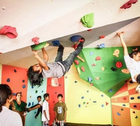 Experience Indoor Wall Climbing in Bangalore