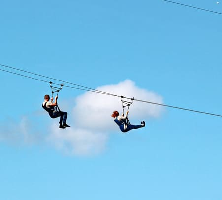 Zip Lining in Pushkar, Rajasthan Flat 17% Off