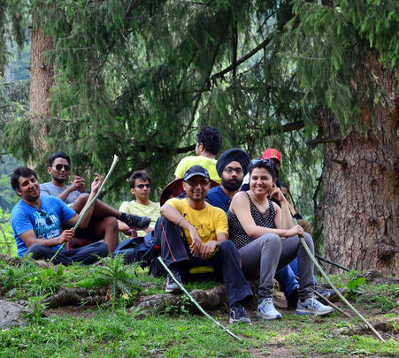 Heat Escape Trek to Tosh near Kasol from Delhi (august,2016)