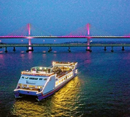 Mandovi Boat Cruise with Dinner-flat 26% off