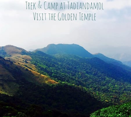 Trek to Tadiyandamol Hills, Coorg