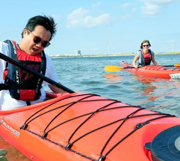 Ocean Kayaking at Bat Island, Goa
