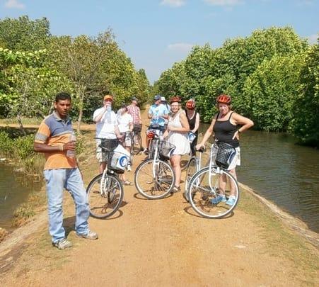 Mountain Biking Tour at Akuressa in Sri Lanka