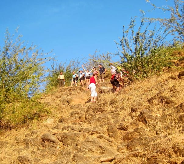 Hiking to Nahargarh in Rajasthan