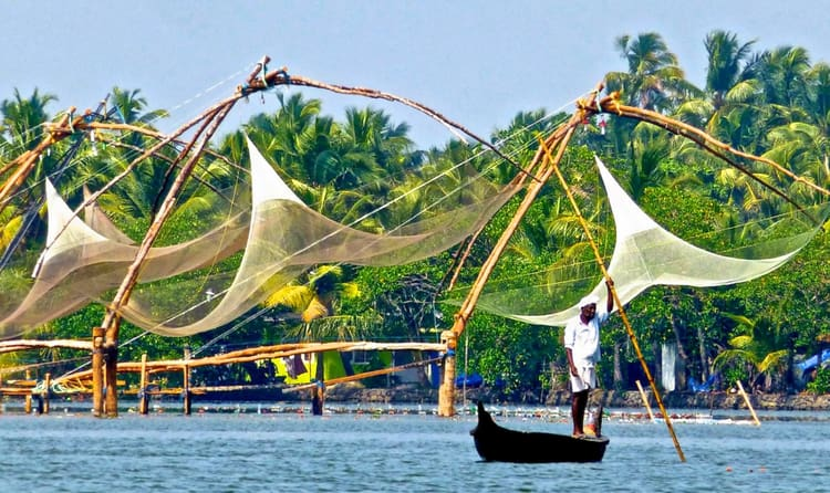Try Traditional Kerala Fishing