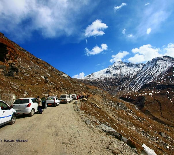 Jeep Safari to Rohtang Pass