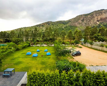 Camping at the Foothills of Nandi Hills, Bangalore