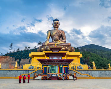 9 Days Bhutan Sightseeing Tour from India