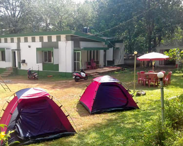 Camping in Lush Green Forest, Dandeli Flat 20% off