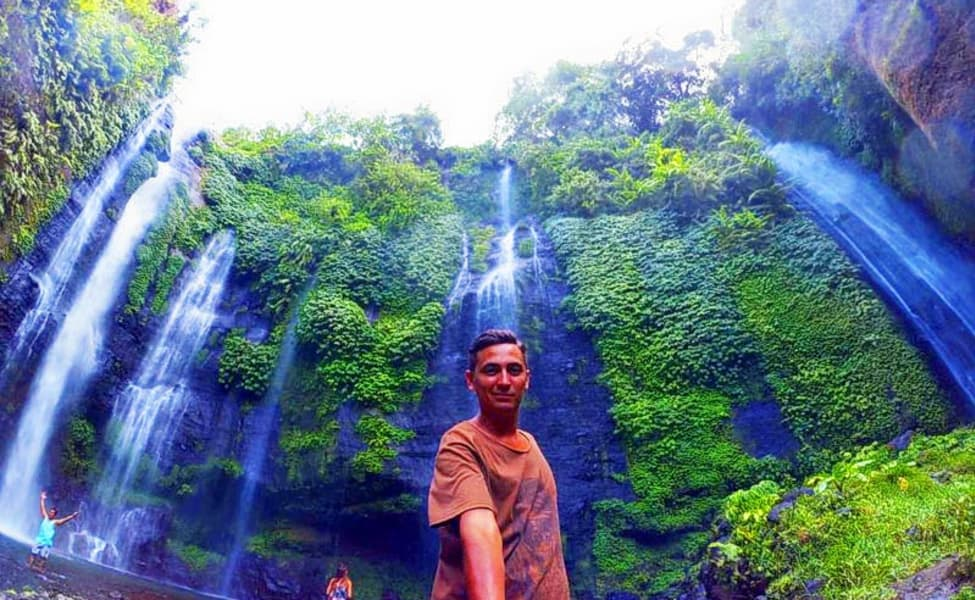 Vespa Ride And Trek To The Top Of The Waterfalls