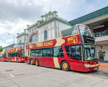 Hong Kong Big Bus Hop-on Hop-off Tours, Flat 20% off