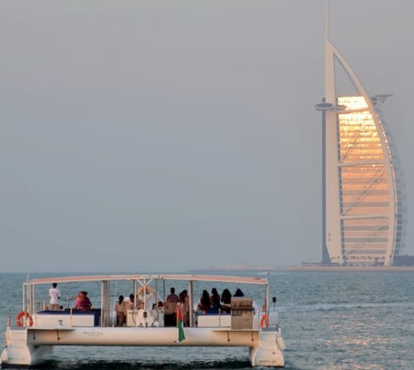 Catamaran Sharing Cruise in Dubai