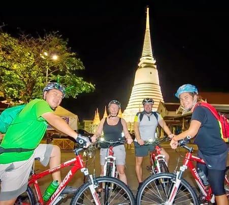 Night Biking in Bangkok