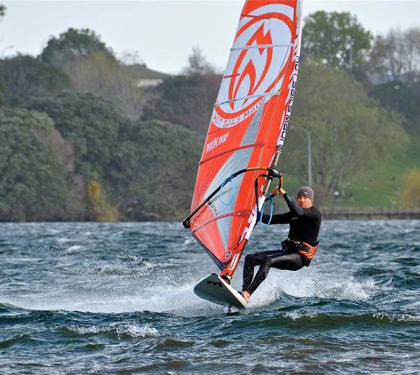 Windsurfing in South Bali