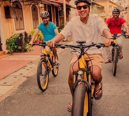 E-bike Cycling Tour of Panaji