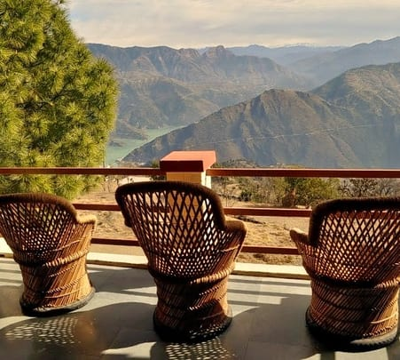 Stay at The Himalayan Eco Lodges in Sursingdhar